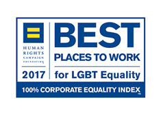 HRC 2017 Best Places to Work for LGBT Equality