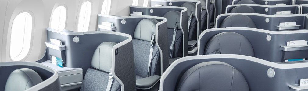 Flagship Business lie-flat seats